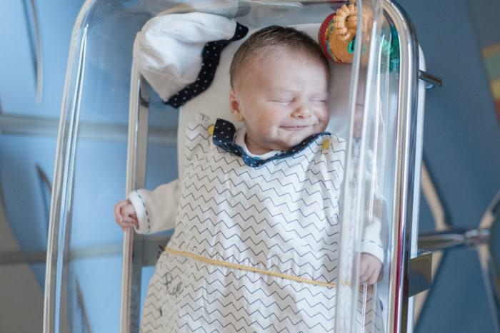 Photographe naissance à la maternité, Angers